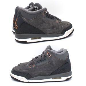 Nike Air Jordan 3 Retro Anthracite Sneakers 4.5Y